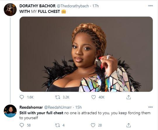 """""""Nobody Is Attracted To You, Stop Forcing Them To Yourself"""" – Fan Drags Dorathy Bachor"""