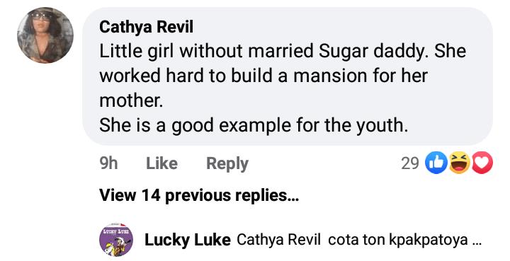 Fans troll Regina Daniels after Emmanuella built a house for her mother