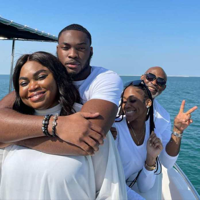 Actor RMD flaunts all white family photo as wife celebrates birthday