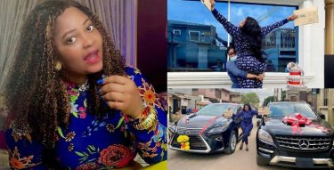 Biodun Okeowo takes delivery of 2 cars in a day; a Lexus and a Benz