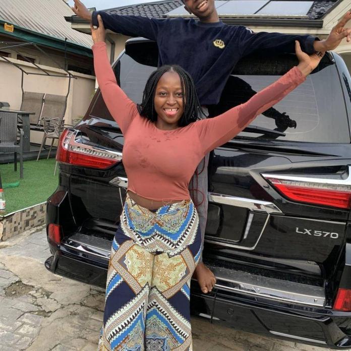 Emmanuella flunts her brand new car