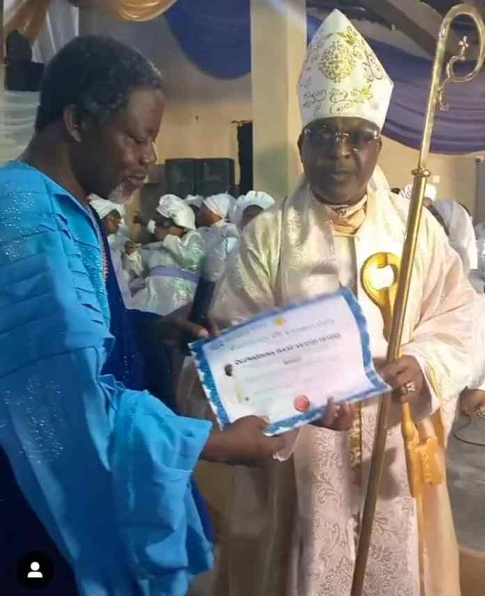 Shina Peters Ordained Bishop