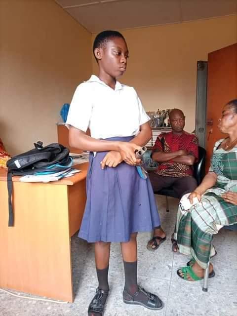 Cross River Schoolgirl Caught With Gun Confesses To Cult Membership