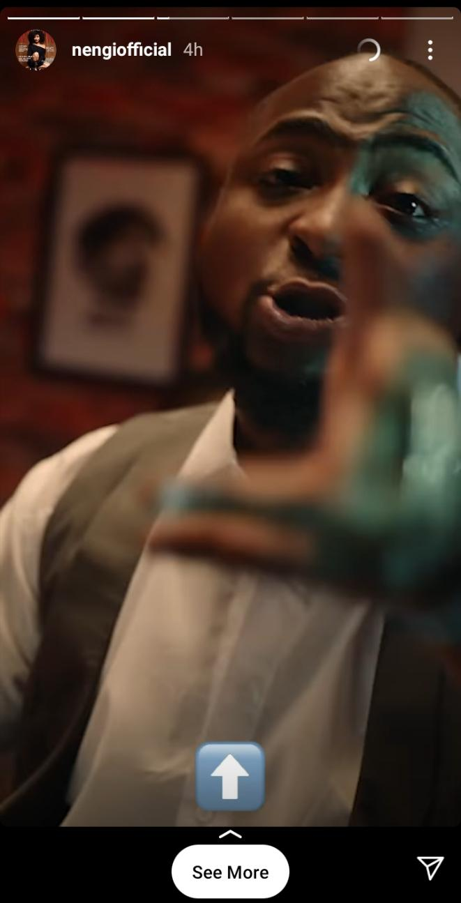 Nengi reacts to reports of alleged beef with Davido