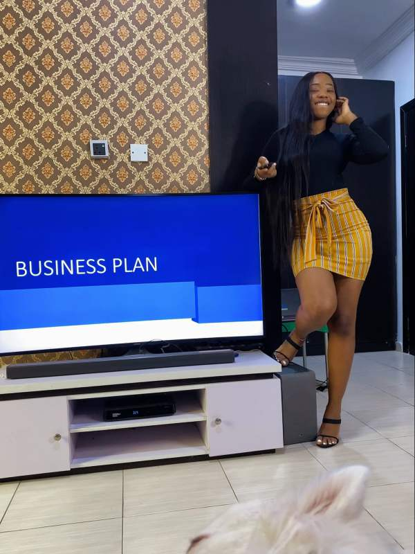 Lady whose husband asked to present a business proposal shares update