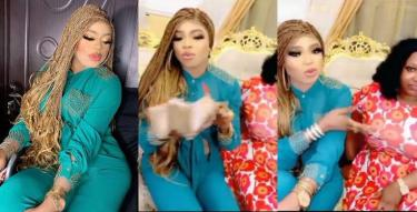Bobrisky Rewards Lady Who Got Beaten For Drawing Tattoo of His Face (Video)