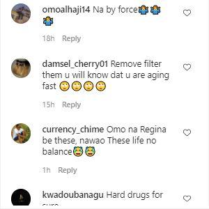"""Na drugs"" - Reactions as Regina Daniels struggles to walk in heels (Video)"