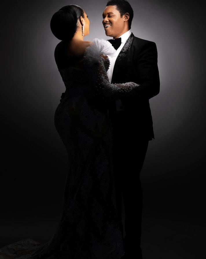 Omotola Jalade-Ekeinde's wedding anniversary