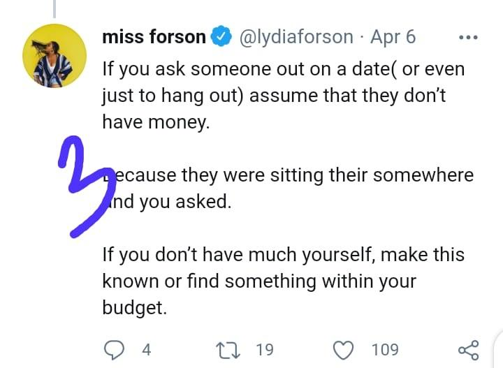 Lydia Forson care men