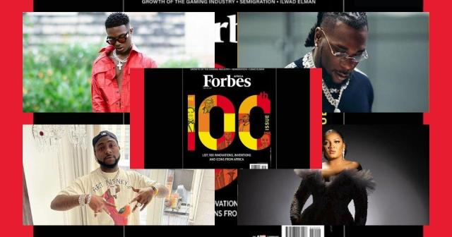 Forbes 100 African icons