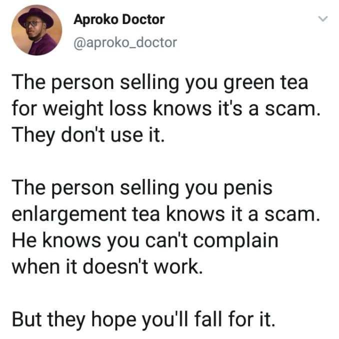 Akproko Doctor green tea