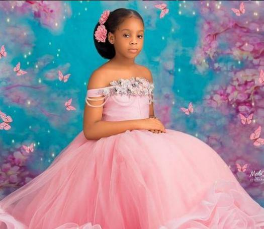 Basketmouth daughter Birthday Amy Celebrates
