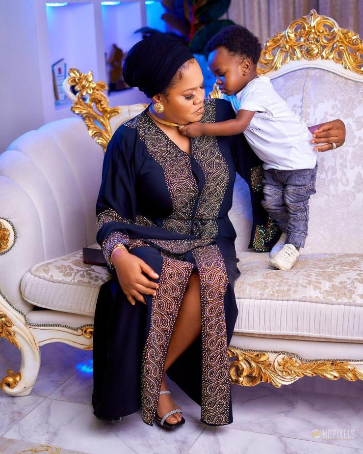 'The birth of Ire added so much joy and happiness to my life' - Toyin Abraham says amidst rifts with Liz Anjorin