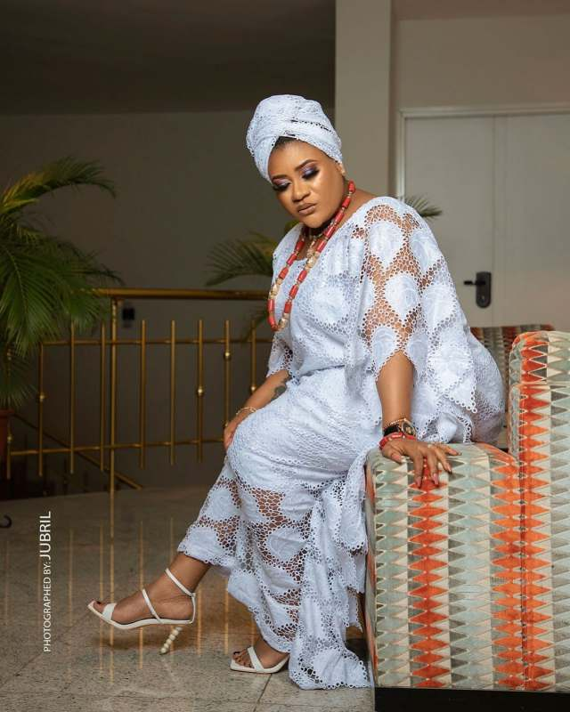 Nkechi Blessing finally opens up on reasons for keeping her wedding photos from social media