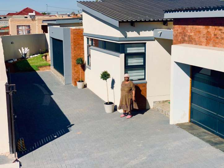 Man narrates how he surprised his mother with a new house