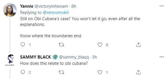 Reno Omokri Obi Cubana Reactions Mother Inferiority Complex Burial Oppress Money