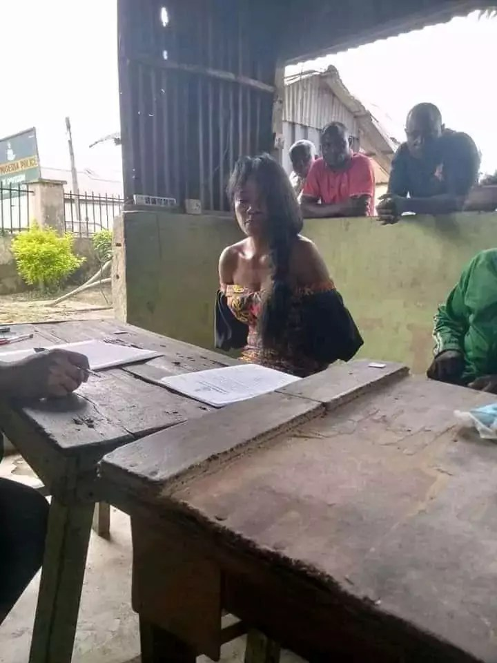 Lady arrested over alleged murder of sugar daddy after she escaped with his N7M and Benz