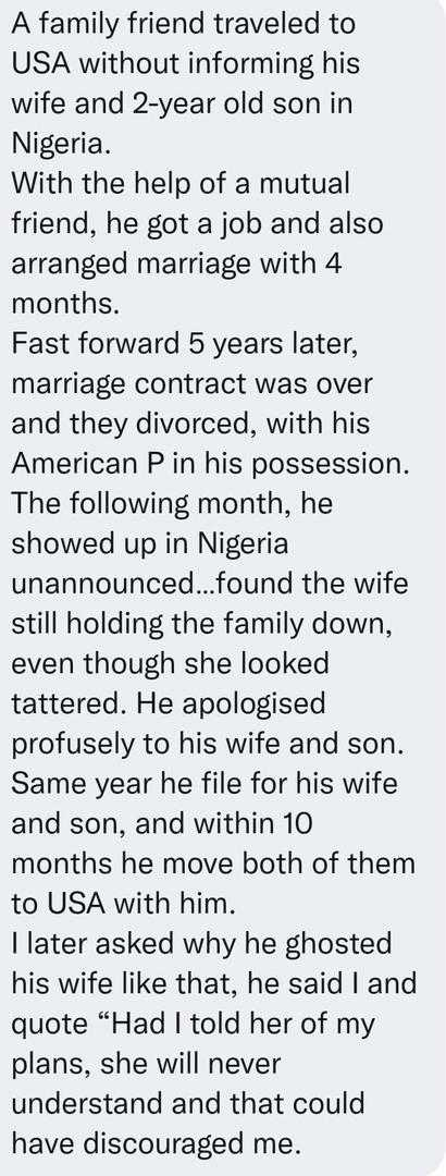 Man gives shocking reason for abandoning wife & 2-year-old son for 5 years to work abroad