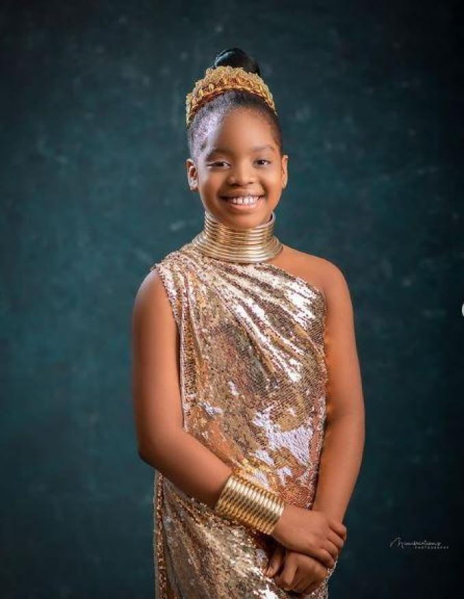 Comedian Basketmouth celebrates daughter Janelle with heartfelt note on her 10th birthday
