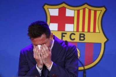 lionel messi never imagined would be leaving fc barcelona