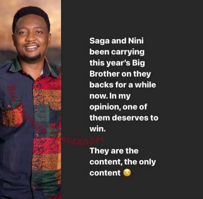 Saga Nini winners