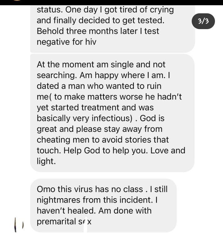 HIV boyfriend infected