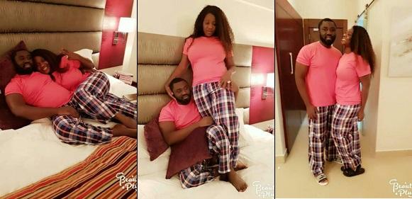 Mercy Johnson And Husband Share Bedroom Photos, Rock Matching Pyjamas