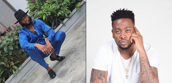 Bbnaija's Teddy A slams a Twitter user who called him out after he shared a photo of himself (Screenshot)