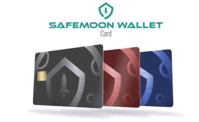 safemoon wallet card