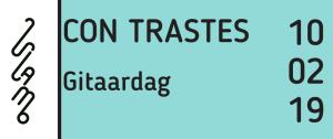 Vlamo Gitaardag 2019 @ Stedelijk Conservatorium Mechelen   Mechelen   Vlaanderen   België