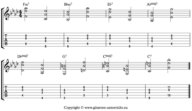 Wechselbass mit Harmonien