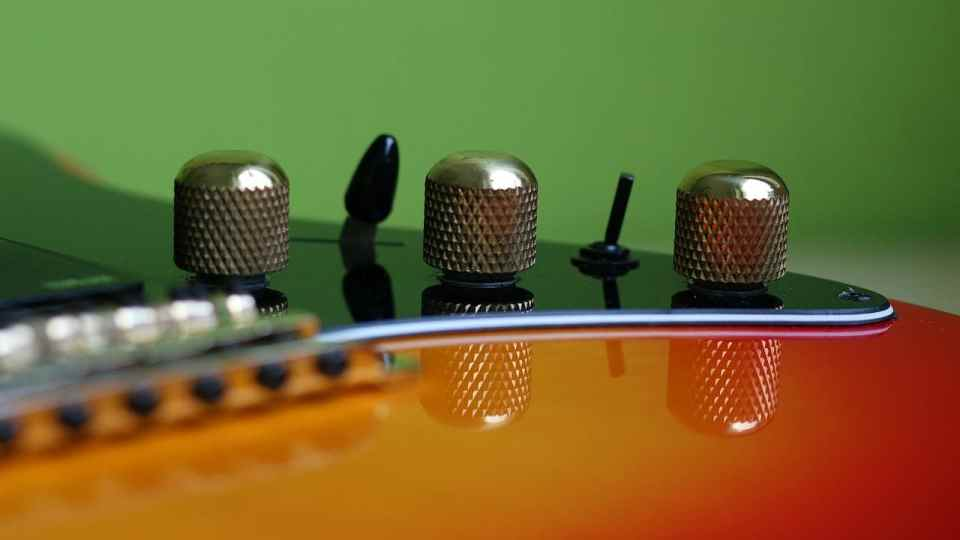 Bedienelemente Gitarre