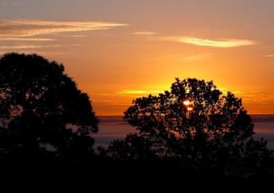 Lever de soleil à quelques pas de la Colombière