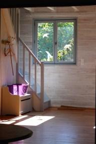 Escalier - entrée du Gîte
