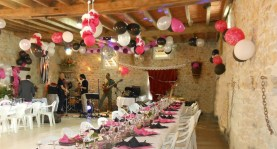 receptions and events (weddings, birthdays )