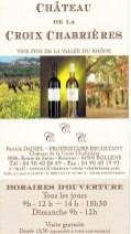 vins Croix Chabrière