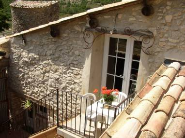 Gîte-en-Provence petite terrasse