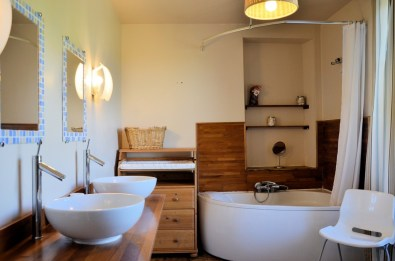 Salle de bain Gîte Murol