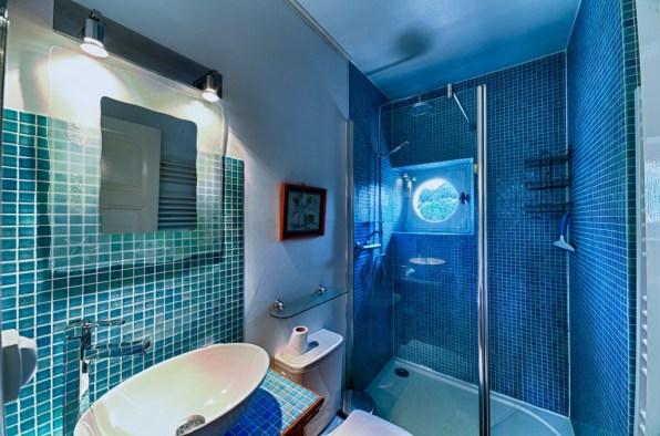 Salle de bain gite Murol