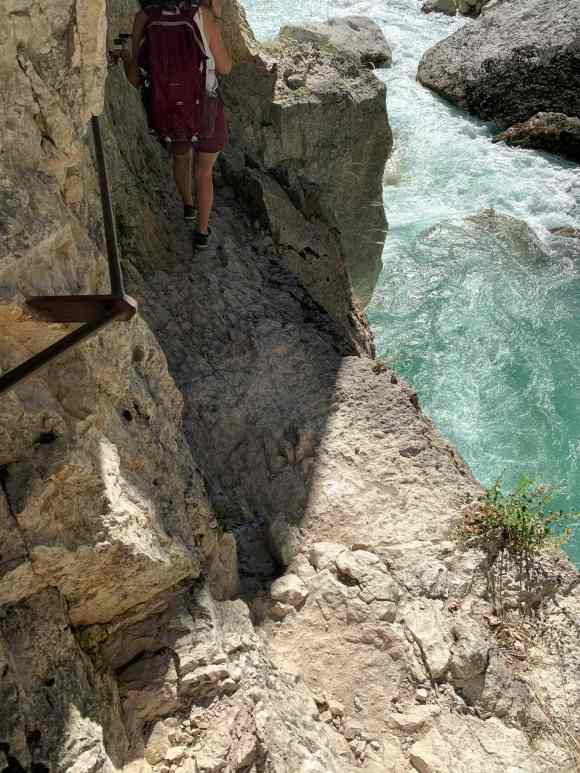 trekking gole verdon Maugue