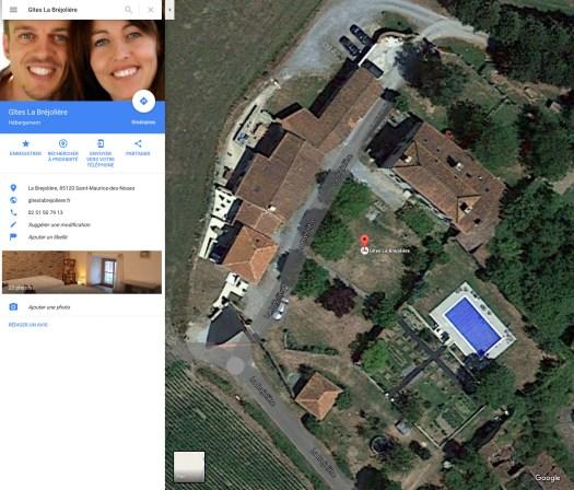 Google_Maps_Gites_Brejoliere