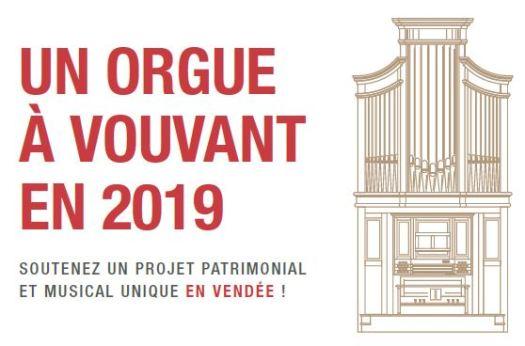 Soutenir le projet d'orgue à Vouvant