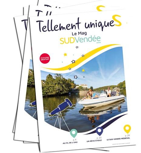Magazine destination Sud-Vendée Tellement uniquesS Gîtes La Bréjolière