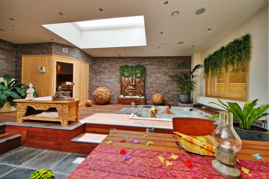 O Bois Zen Chambre Avec Jacuzzi
