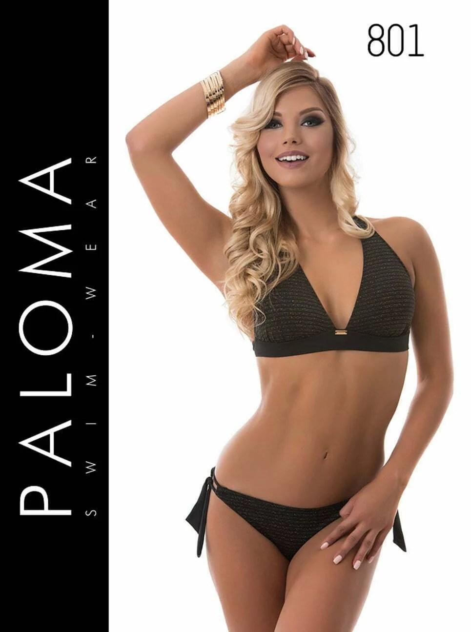 PALOMA lurex szálas bikini fürdőruha 801