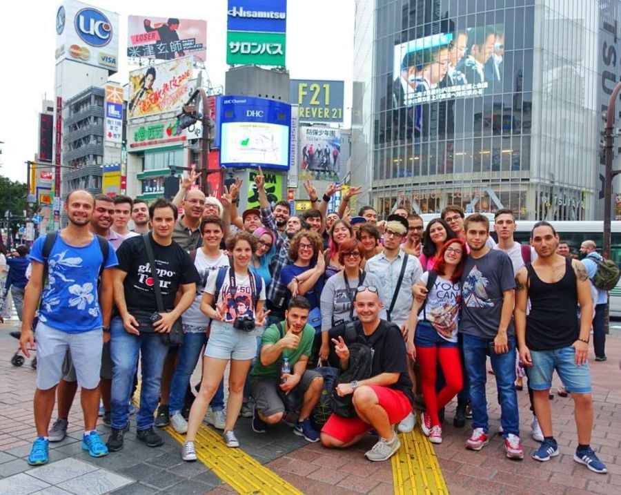 Foto di gruppo Giappotour settembre 2016