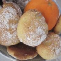 Biscotti all'Arancia ed olio di oliva