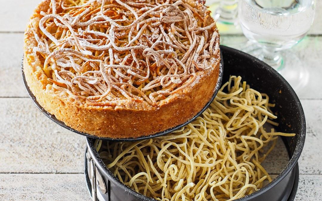 Emilia in tavola: la torta di tagliatelle