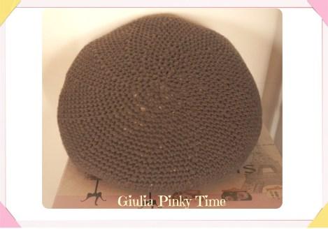 Fodera cuscino rotondo all'uncinetto / round crochet cushion cover