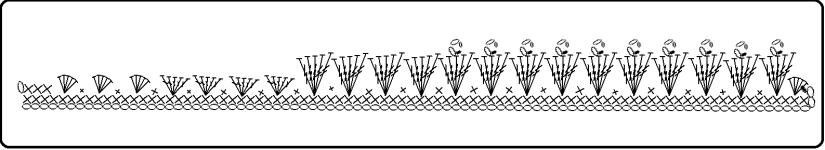 Grafico per fare la rosa uncinetto - Giulia Pinky Time